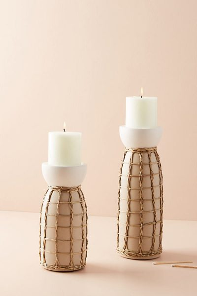 Kerzenhalter mit Seegras - Cream44305332EU