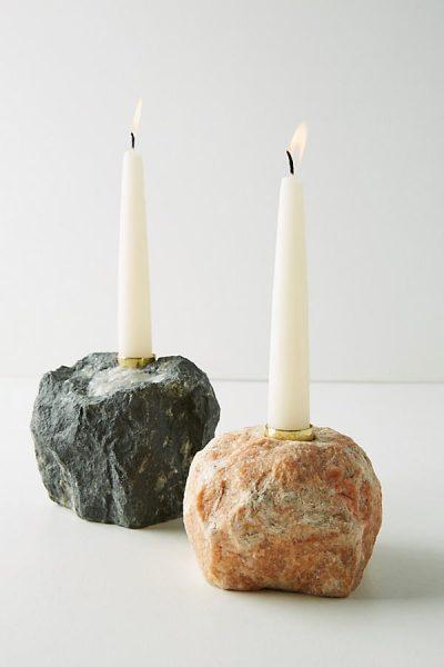 Kerzenständer aus Stein - Neutral44304525EU