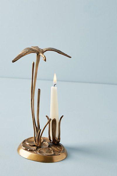 Kerzenständer in Möwenoptik - Bronze45369881EU