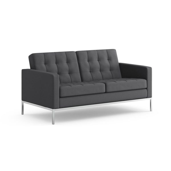 Knoll International Knoll - Florence Sofa 2-Sitzer / Hopsack