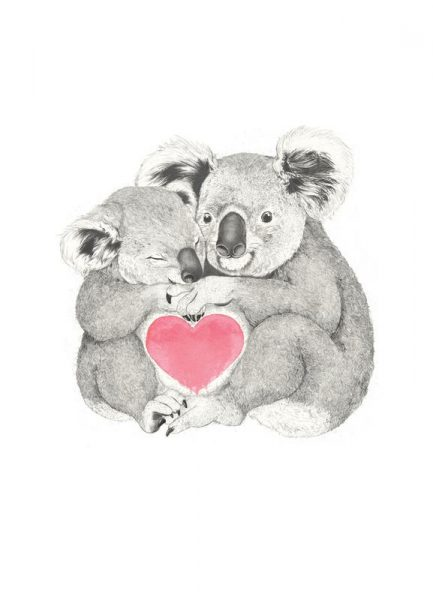 Koala Leinwandbild