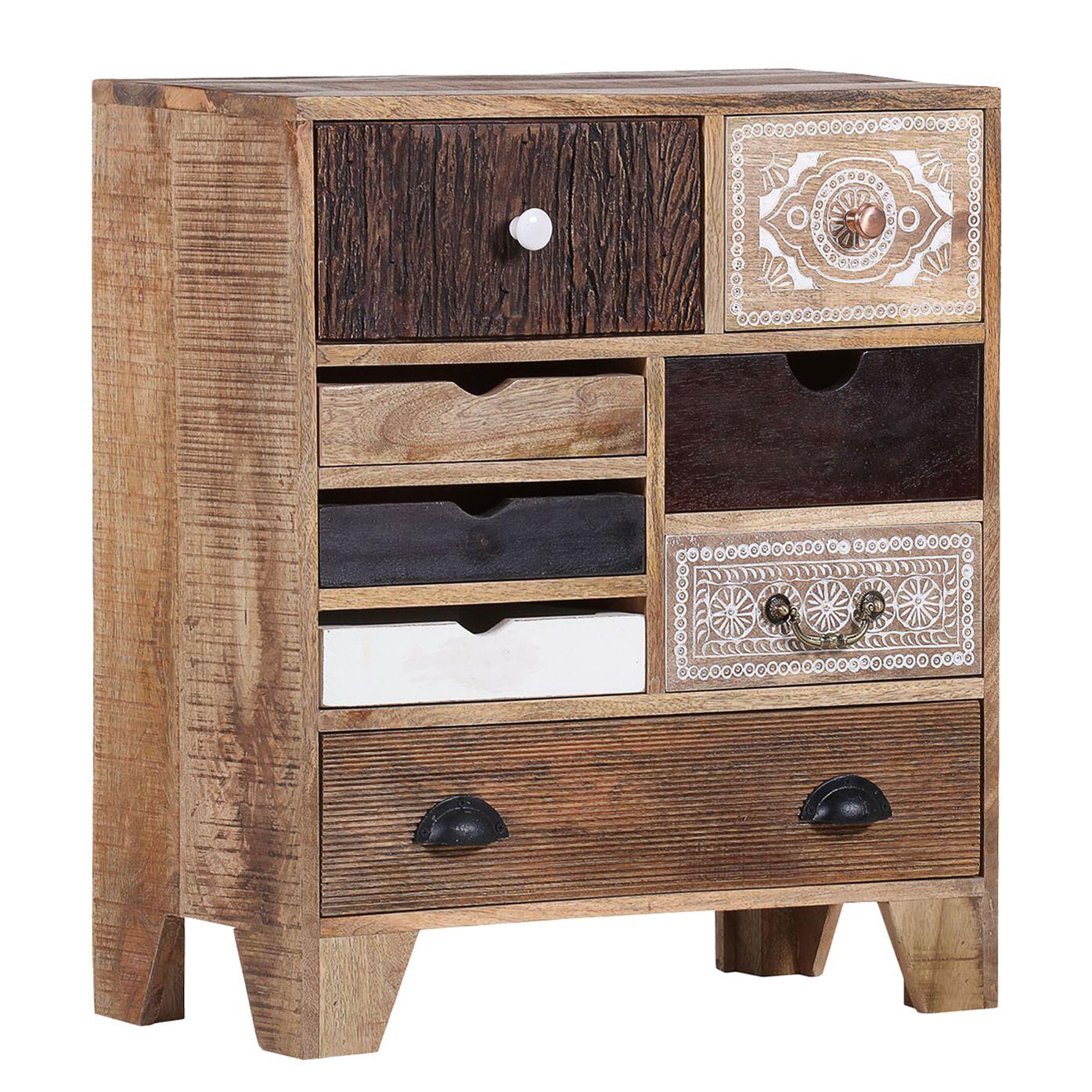 kommode curenna ii mango teilmassiv mango braun ars natura online kaufen bei woonio. Black Bedroom Furniture Sets. Home Design Ideas