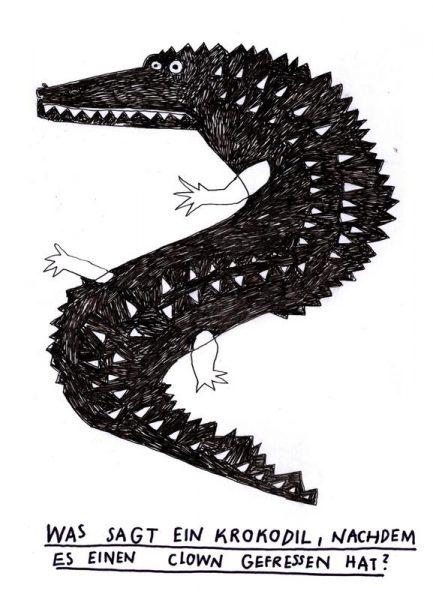 Krokodil Leinwandbild