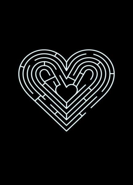 Labyrinth Leinwandbild