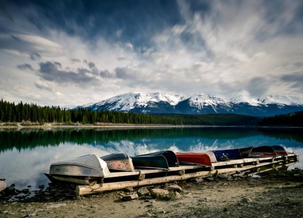 Lakeside Leinwandbild