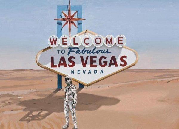 Leaving Las Vegas Leinwandbild