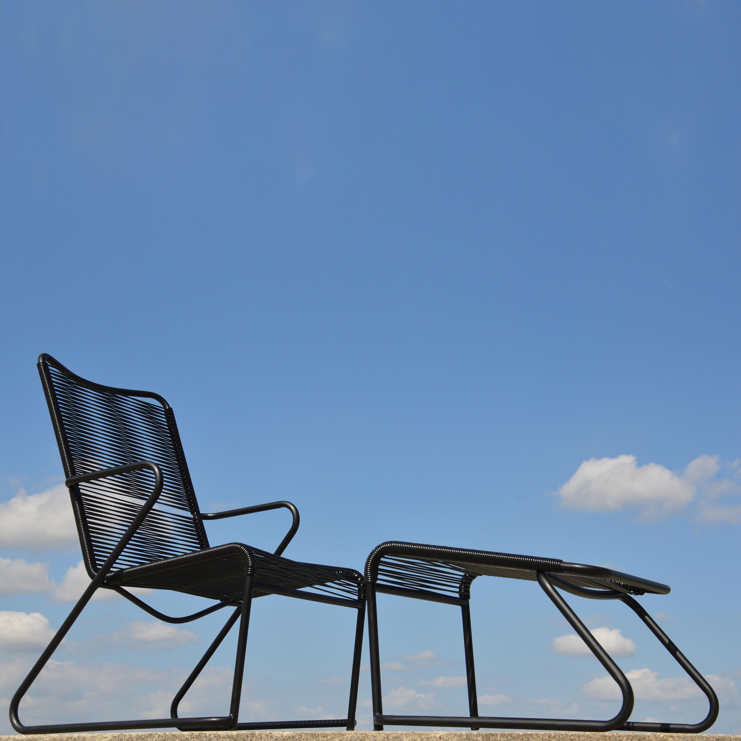 lido fu teil f r lounge sessel taupe. Black Bedroom Furniture Sets. Home Design Ideas