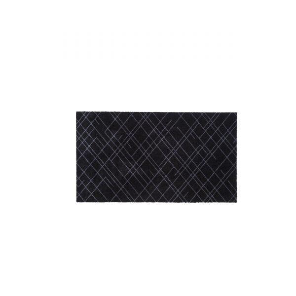 Lines 120 Sauberlaufmatte schwarz-grau