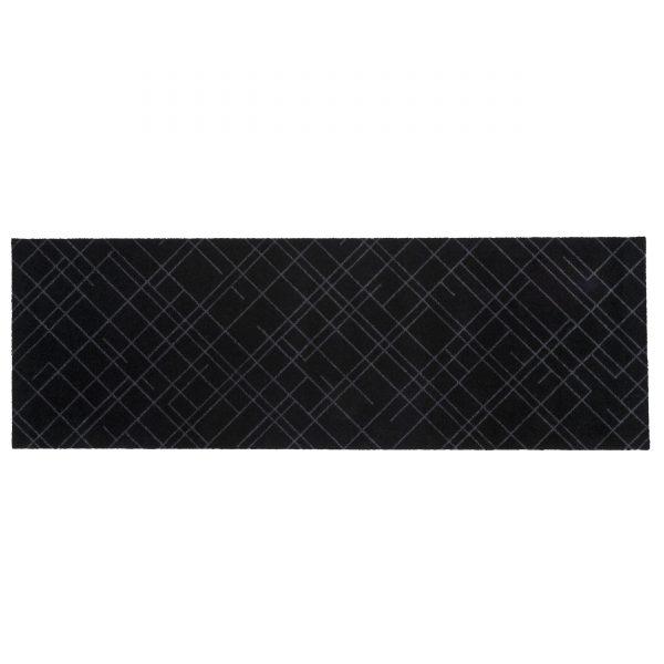 Lines 200 Sauberlaufmatte schwarz-grau