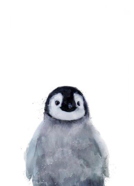 Little Penguin Leinwandbild