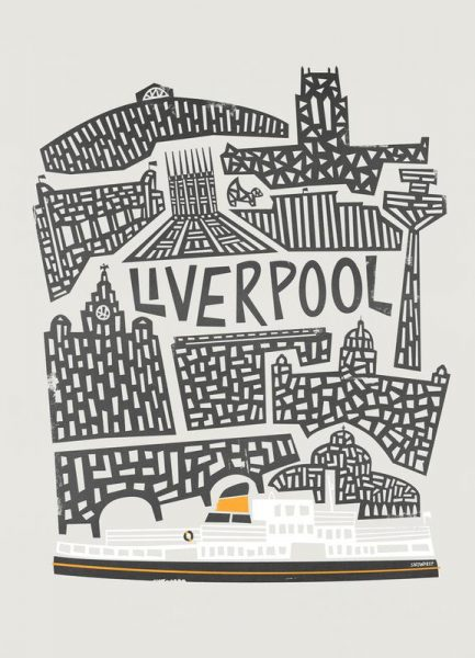 Liverpool Leinwandbild