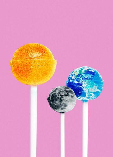 Lollipops Leinwandbild