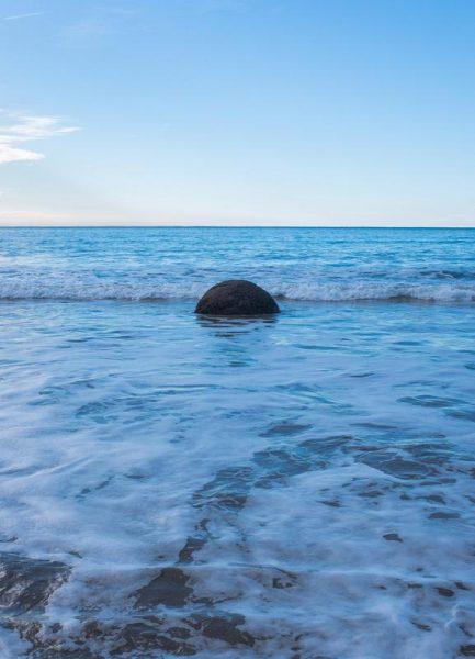 Lost in the Ocean Leinwandbild