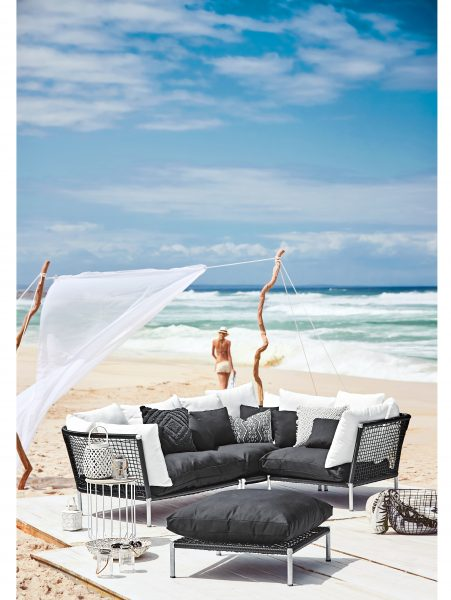 Lounge Ecksofa inkl. Hocker000497707000