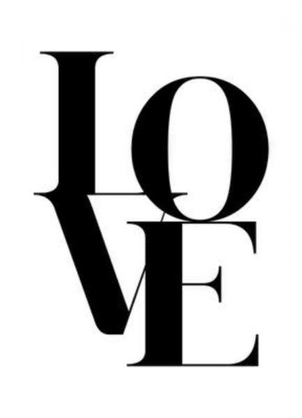 Love 2 Leinwandbild
