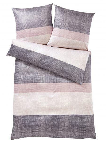 Mako Satin Bettwäsche 'Sparkling Stripes'000850370002