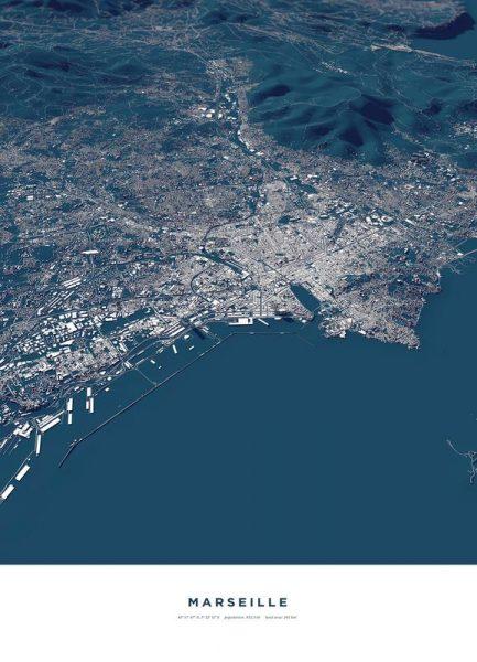 Marseille Leinwandbild