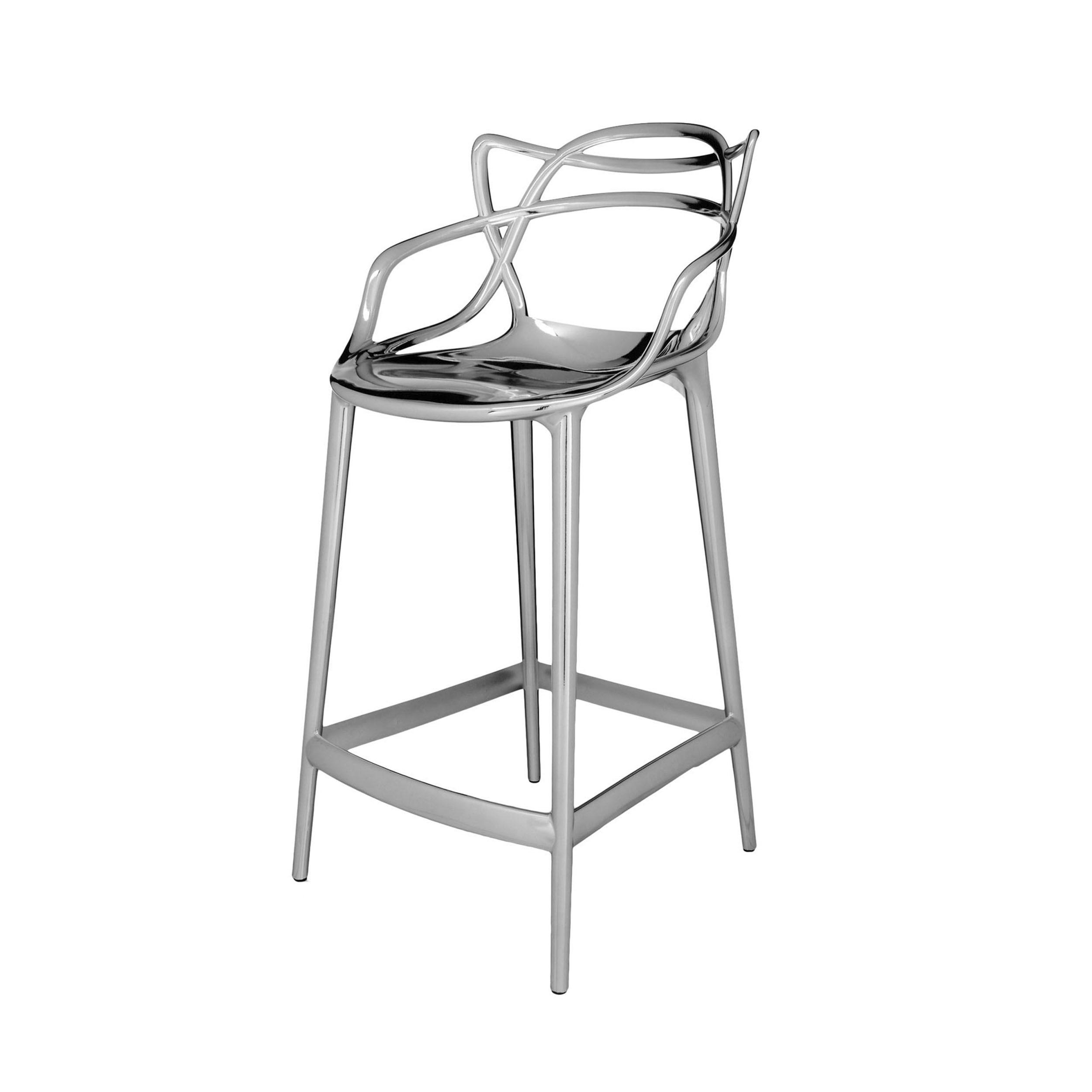 Masters stool barhocker chrom 99 online - Barhocker poco ...