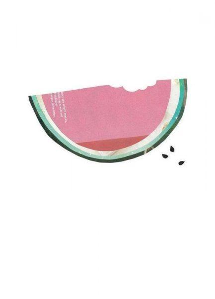 Melone 2 Leinwandbild