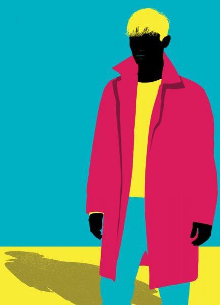 Menswear 5 Coat Leinwandbild
