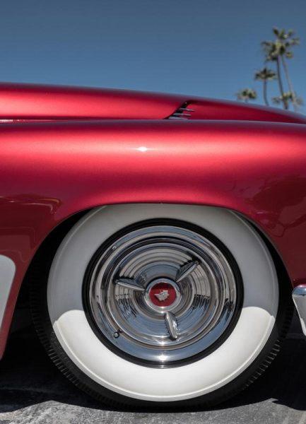 Mercury Red Leinwandbild