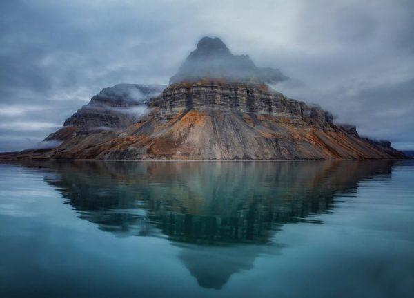 Misty Mountain Rickard Eriksson Leinwandbild