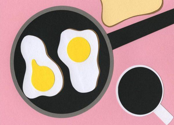 Mr. D´z Breakfast Leinwandbild