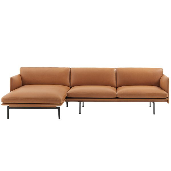 Muuto - Outline 3er Ecksofa links