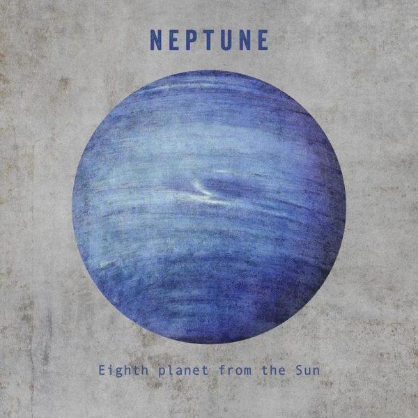 Neptune Leinwandbild