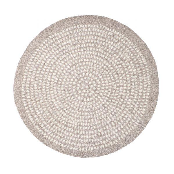 Nestor Sauberlaufmatte rund beige-weiß