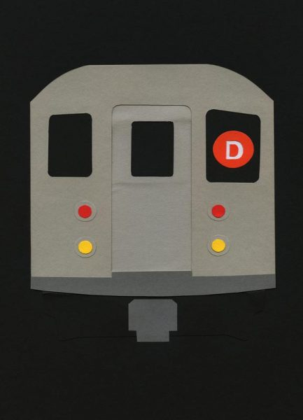 New York Subway Car R62 Leinwandbild