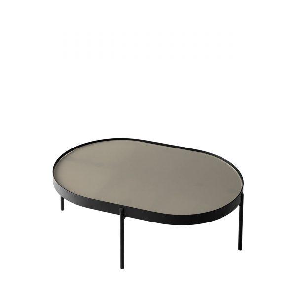 NoNo Table Beistelltisch S schwarz-beige
