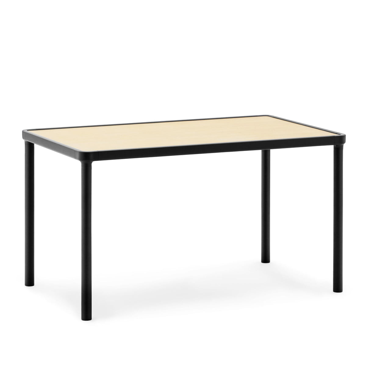 normann copenhagen case coffee table 80 x 48 cm schwarz. Black Bedroom Furniture Sets. Home Design Ideas