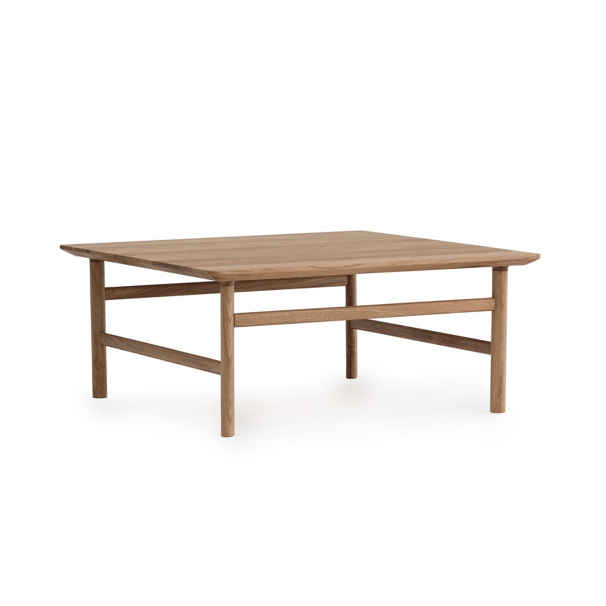 normann copenhagen grow couchtisch 80 x 80 cm eiche eiche natur t 80 h 35 b 80 online kaufen. Black Bedroom Furniture Sets. Home Design Ideas