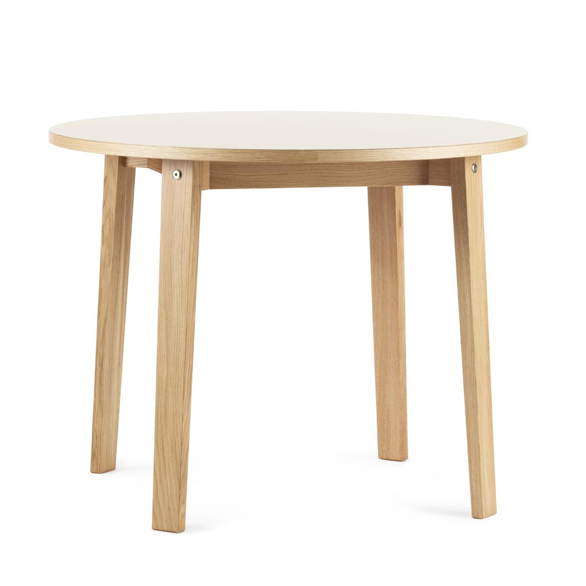 normann copenhagen slice tisch 95 cm creme cr me h 74 online kaufen bei woonio. Black Bedroom Furniture Sets. Home Design Ideas