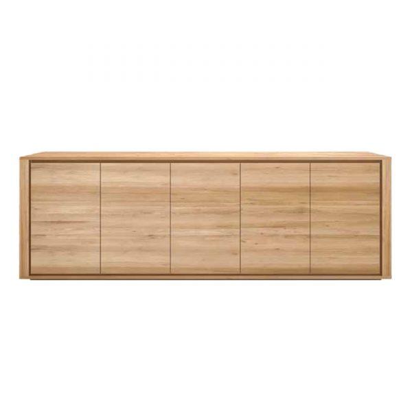 Oak Fog Sideboard 5-türig