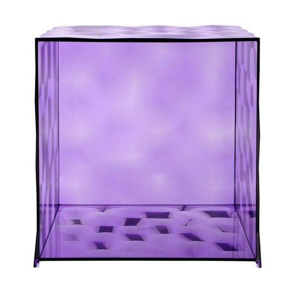 Optic Kubus ohne Tür violett
