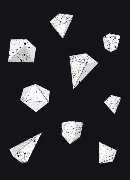 Origami 6 Leinwandbild