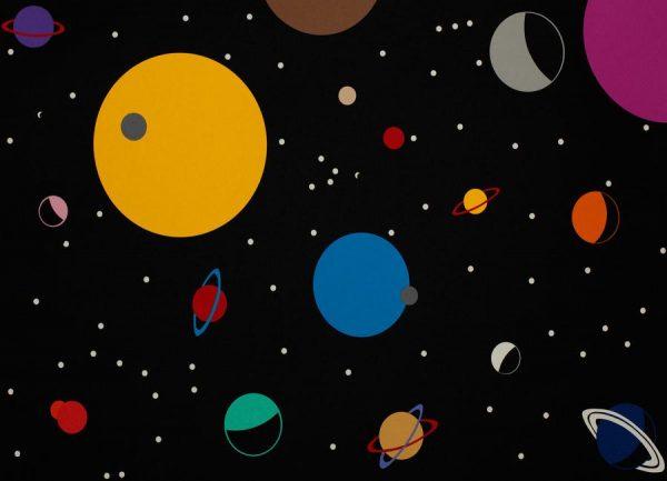 Outer Space Leinwandbild