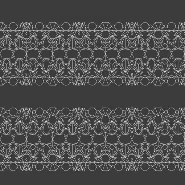 Outline Grau Leinwandbild