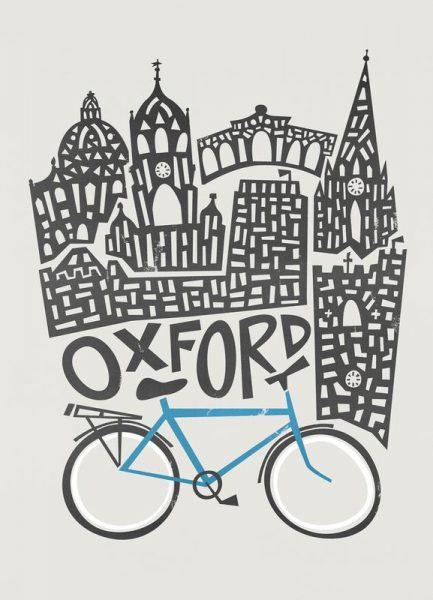 Oxford Leinwandbild