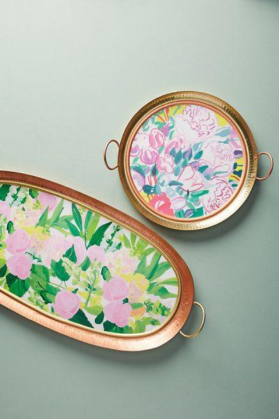 Paint & Petals Tablett - Copper45425253EU