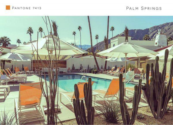 Palm Springs 7413 Leinwandbild