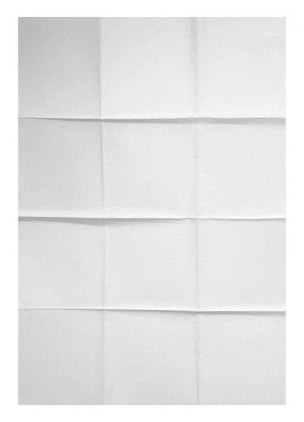 Paper Grid Leinwandbild