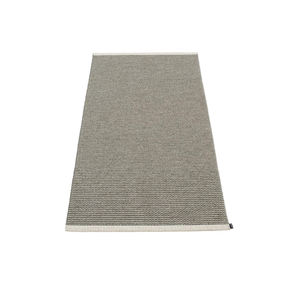 pappelina mono teppich 60 x 150 cm charcoal warm. Black Bedroom Furniture Sets. Home Design Ideas