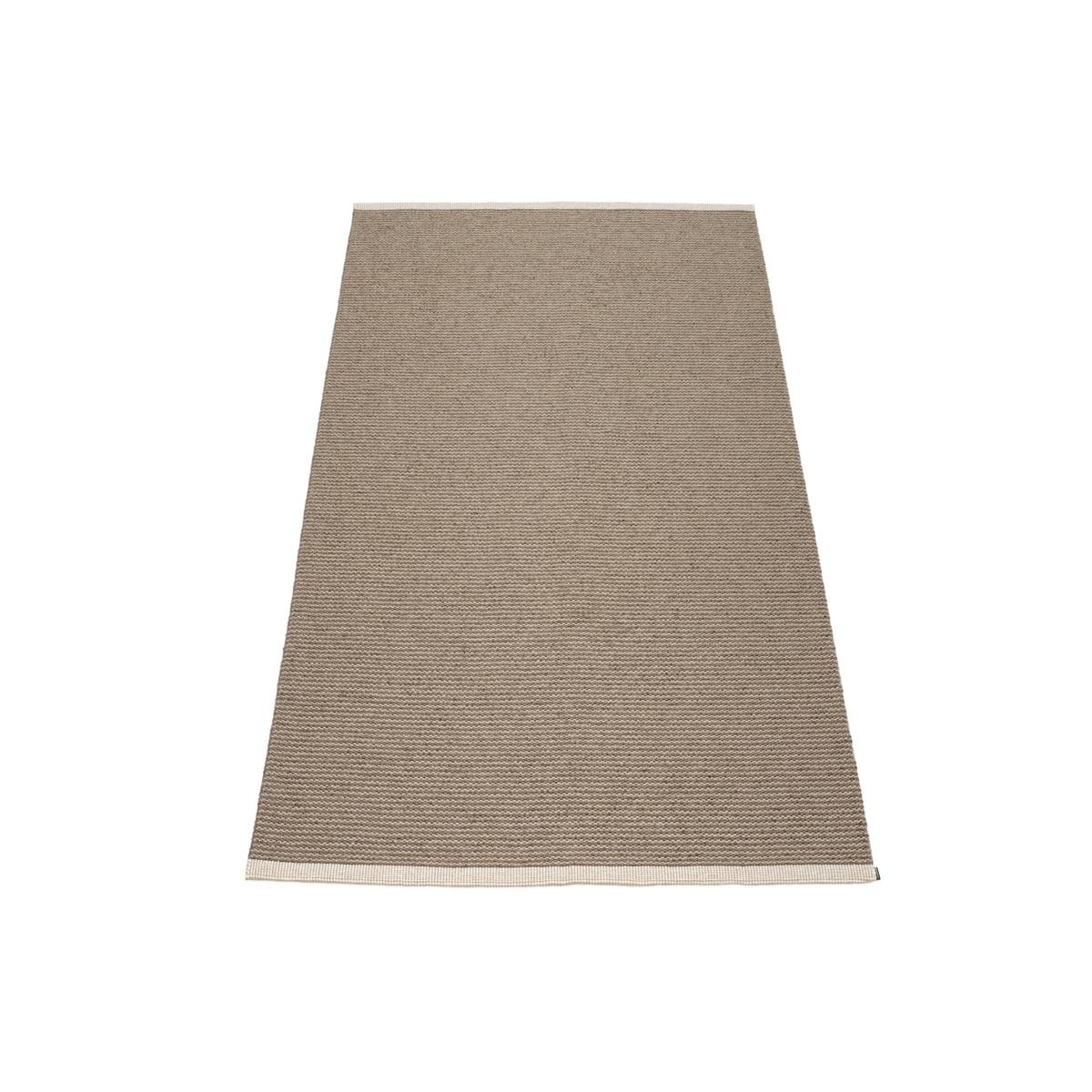 pappelina mono teppich 60 x 150 cm dark mud mud braun t 60 b 150 online kaufen bei woonio. Black Bedroom Furniture Sets. Home Design Ideas