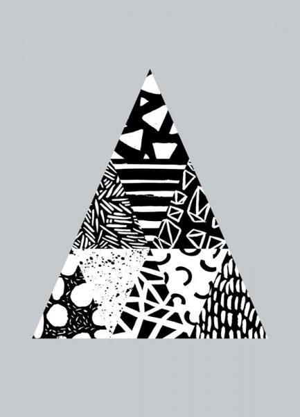 Patterned Tree Leinwandbild