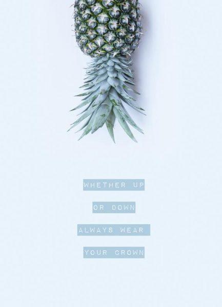 Pineapple Crown Leinwandbild