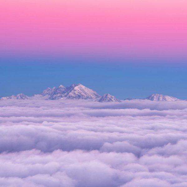Pink in the Sky Ales Krivec Leinwandbild