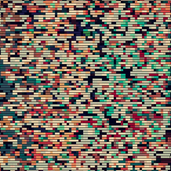 Pixelmania VIII Leinwandbild